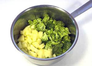 Zubereitung Broccoli Kartoffel