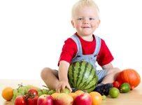 Einkaufen für Babys Menü